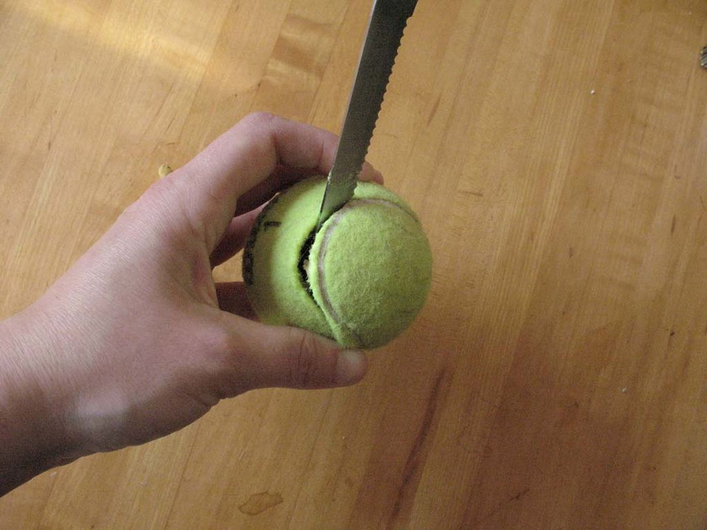 interactive Tennis ball dog toy