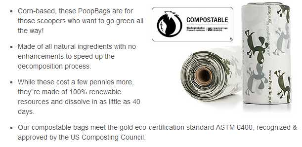 Earth Rated Bags Compole