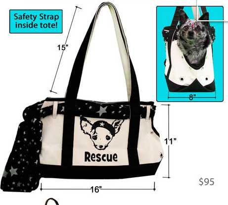 Pet Fly's, italian greyhound tote