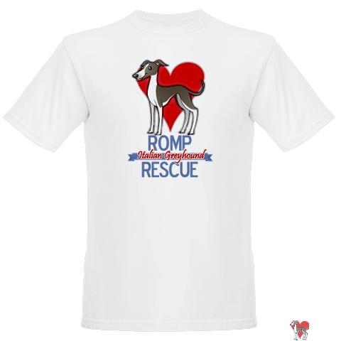 romp rescue shirt, italian greyhound love, italian greyhound, shift, shirts, loves